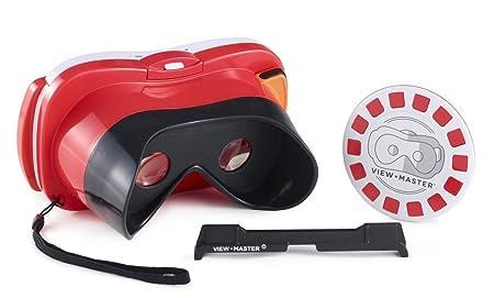 View-Master DLL68 dispositivo de visualización montado en casco - dispositivos de visualización montados en cascos (Smartphone-based, Negro, Rojo, Color blanco, Monótono, De plástico, Niño/niña)
