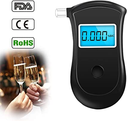 APPROVED AlcoWise Breathalyzer Alcohol Breath Tester
