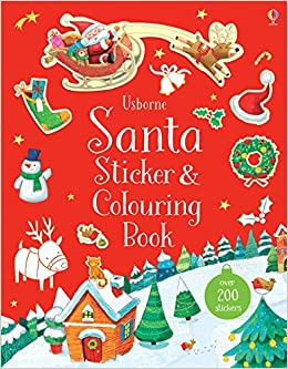 Santa Sticker Book