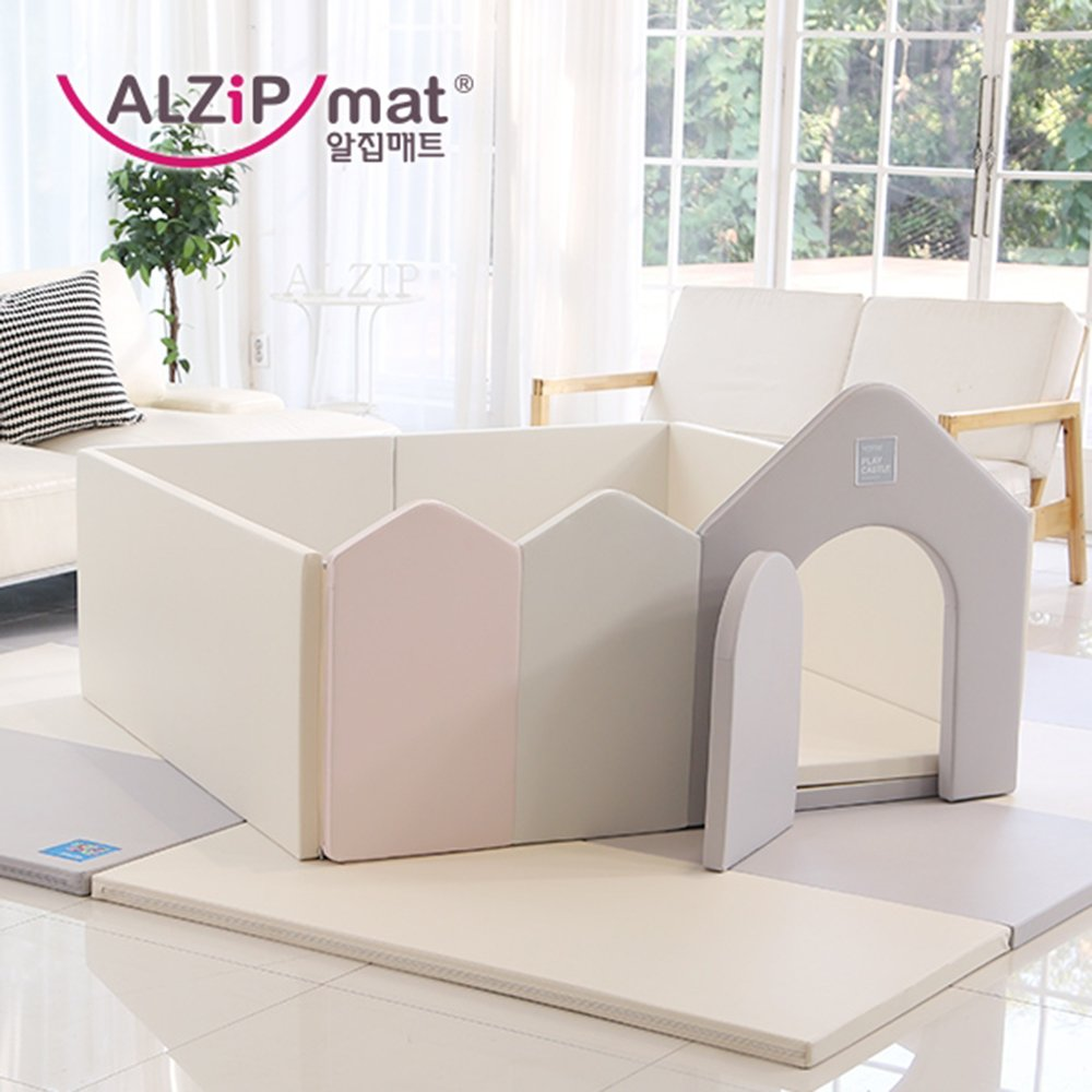 [Alzip Mat] Baby Playard_Play Castle XG (Guard Only) by Alzipmat (Image #1)