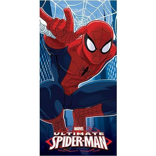 toalla de playa microfibra/ Spiderman Toalla de playa /70/x 140/cm Marvel/ /Disney