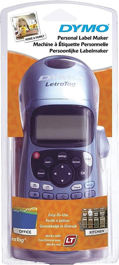 Dymo LetraTag LT-100H - Impresora de etiquetas, color azul ...