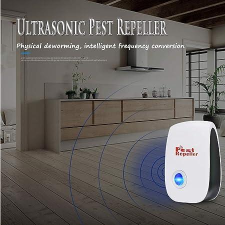 4 Unidades Repelente de Insectos, BESTZY Repelente ultrasónico de plagas, el Mejor Repelente electrónico de plagas para Interior para Ratas, Insectos, cucarachas, Mosquitos y Hormigas: Amazon.es: Jardín