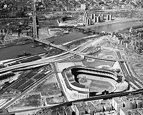 Yankee Stadium and Polo Grounds, New York City Photo 16 x 20in (Stadium Photograph 16x20 Yankee)