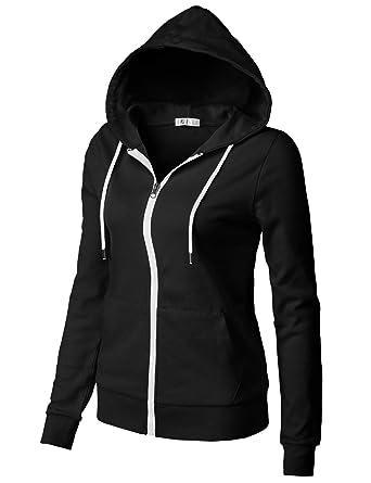 H2H Womens Active Regular Fit Zip up Long Sleeve Hoodie Jacket