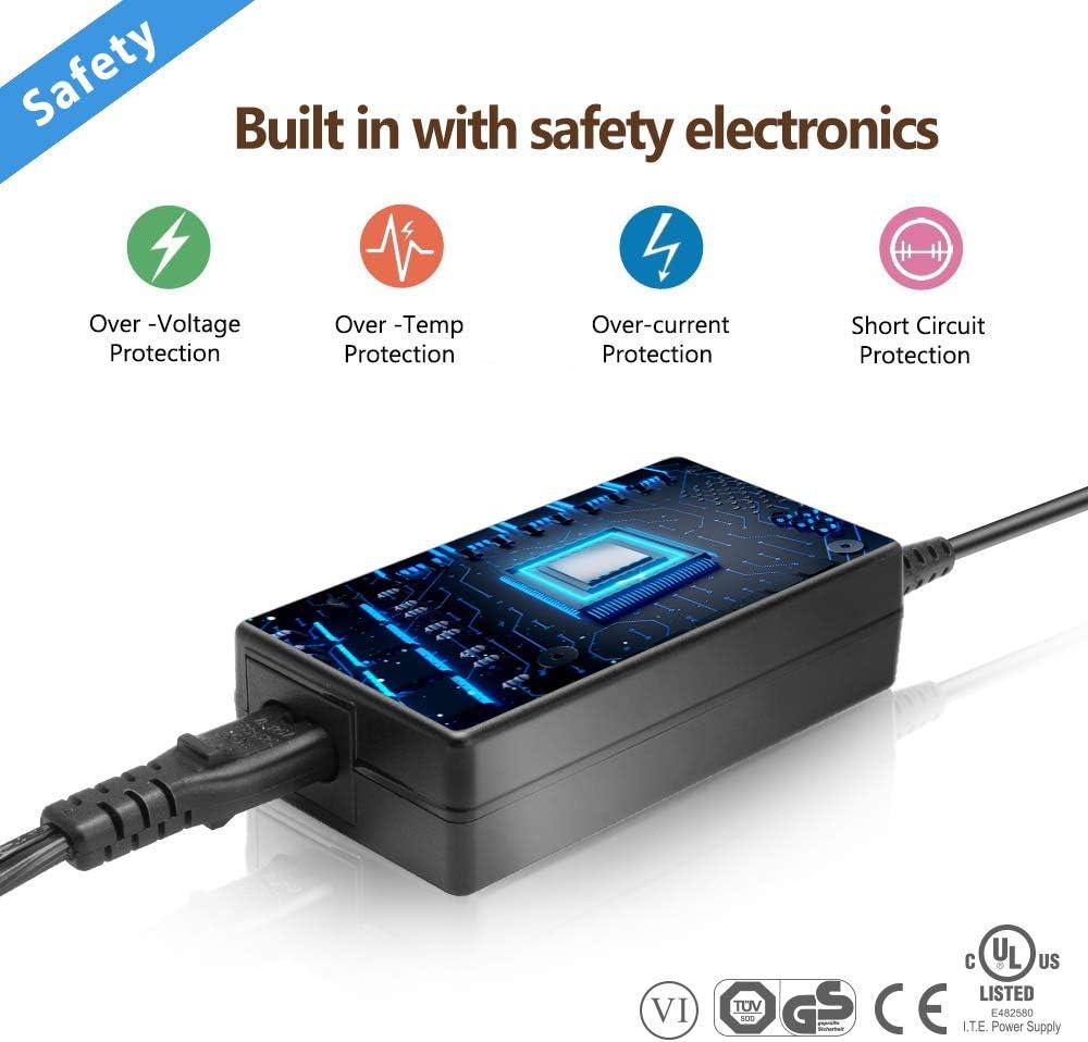 19V 2,53A Adaptador Corriente Cargador para LG Monitor 22LE3320 ...
