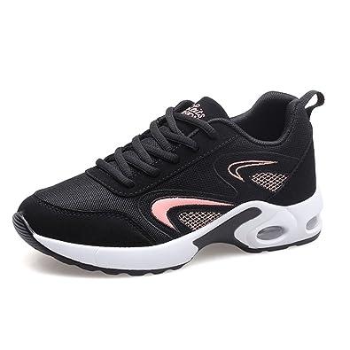 3c667874f221 Qianliuk Frau Running Schuhe für Frauen Atmungsaktive Sport Sneakers  Athletic Outdoor Walking Schuh
