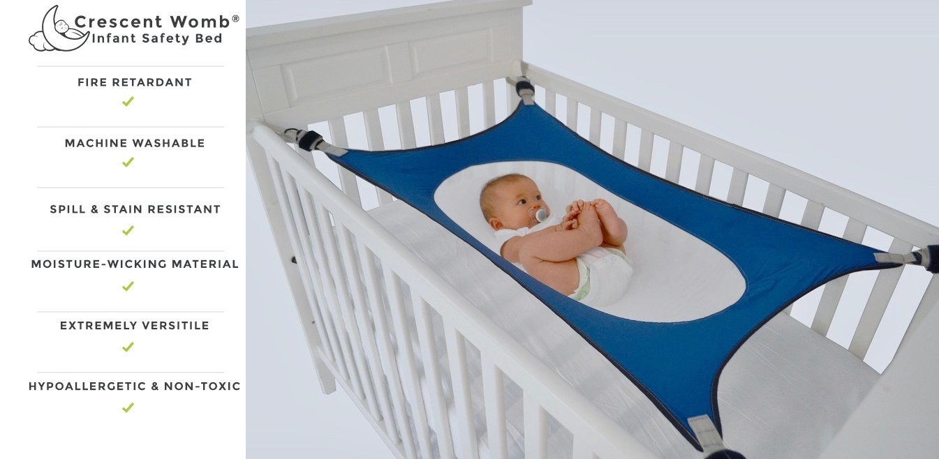 amazon     crescent womb infant safety bed   breathable  u0026 strong material that mimics the womb while reducing the environmental risks associated with     amazon     crescent womb infant safety bed   breathable  u0026 strong      rh   amazon