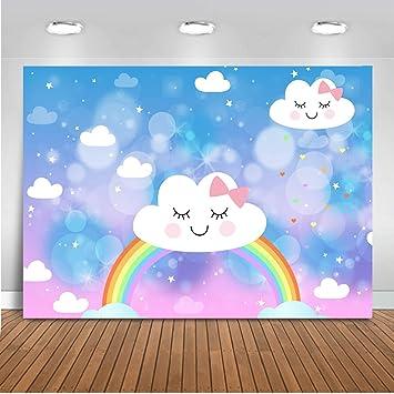 Mehofoto - Fondo de cumpleaños para niños, diseño de Nube ...
