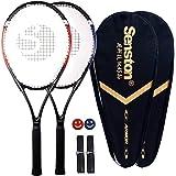Senston - Raqueta de tenis (27.0 in, 2 jugadores)