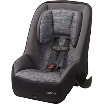 Cosco Mighty Fit 65 DX Convertible Car Seat Heather Onyx Gray