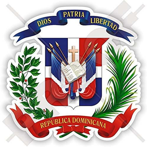 Dominican Republic Models (DOMINICAN REPUBLIC Coat of Arms, National Emblem República Dominicana 90mm (3.5