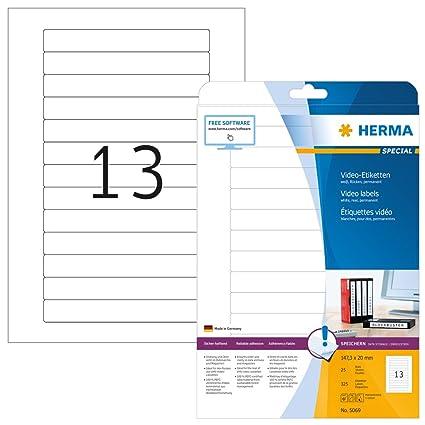 Papier gelb ablösbar 25 Blatt 200 Etiketten A4 Bogen 105 x 74 mm