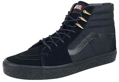 Vans Scarpe X Marvel SK8 Hi (Marvel) Black PantherBlack