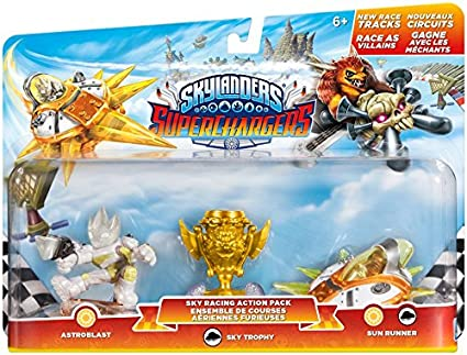 Skylanders SuperChargers: Racing Sky Pack by Activision: Amazon.es ...