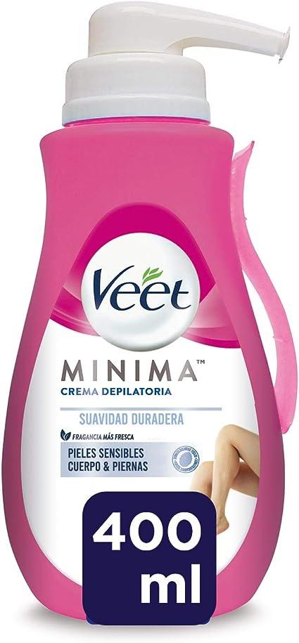 Veet Veet Crema Depilatoria Corporal Para Usar Bajo La Ducha Para ...