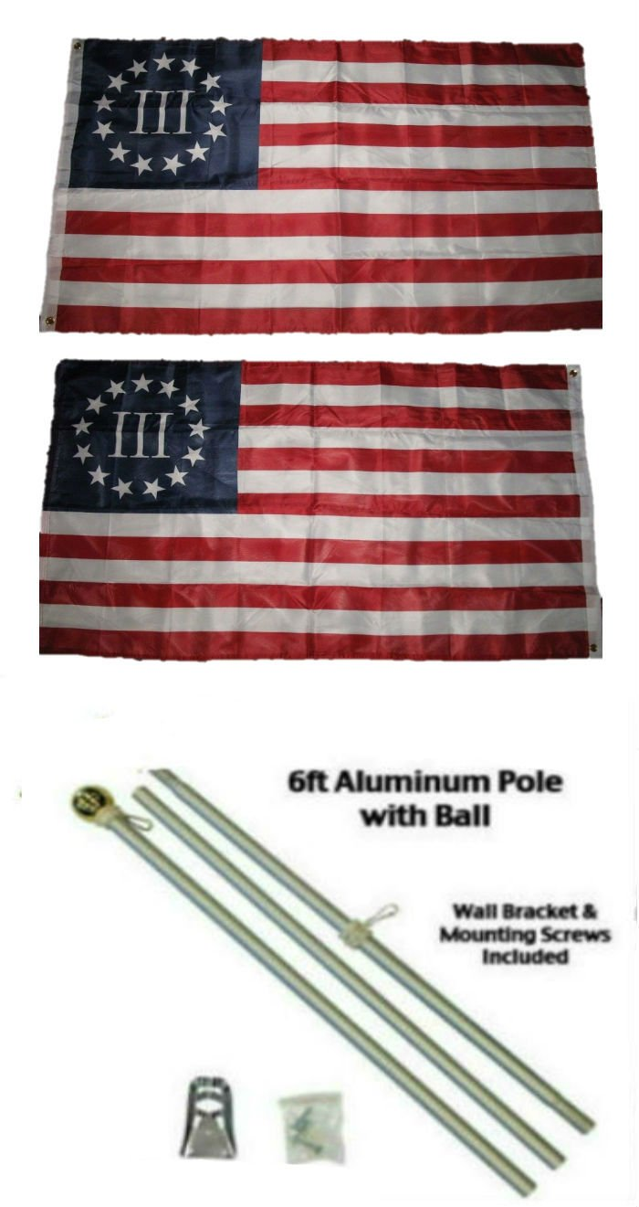 超話題新作 2 ' x 3 2 B01MY2PX26 ' x3 ' Betsy Ross 2 Nyberg 3 % III両面2ply国旗アルミニウムポールキットゴールドボールトップ B01MY2PX26, アクセント プラス:40619fc3 --- getkiddyfox.com