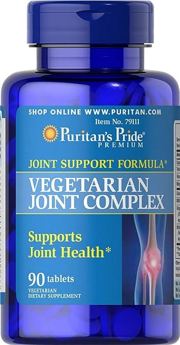 961c2c082 Puritan s Pride Vegetarian Glucosamine MSM Joint Complex-90 Tablets