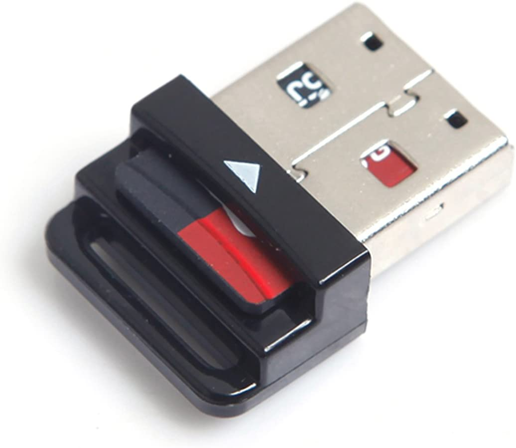 HDMIHOME USB 2.0 to Micro SD T-Flash TF M2 Cell phone /& tablet Memory Card Reader Black Mini Size