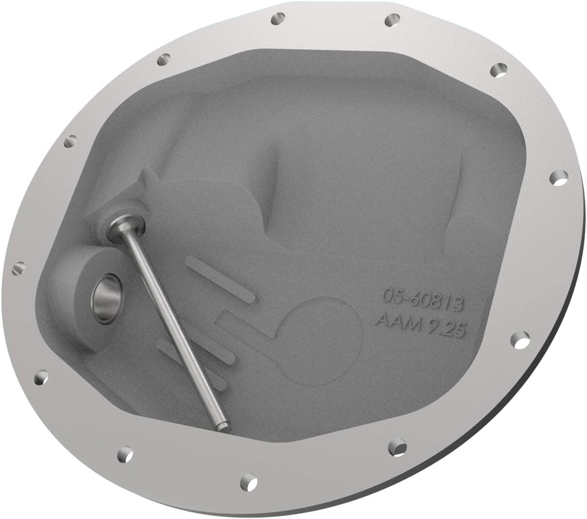 aFe Power 46-70402-WL Pro Series Front Differential Cover Black w//Machined Fins /& Gear Oil