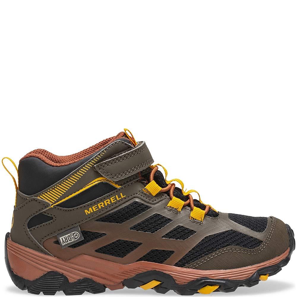 Merrell Kids Moab FST Mid a//C WTRPF Hiking Boot