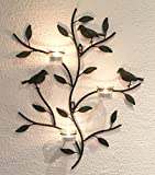 Wall mounted candle holder 131002 Candle holder metal 57 cm Candelabra Candle holder