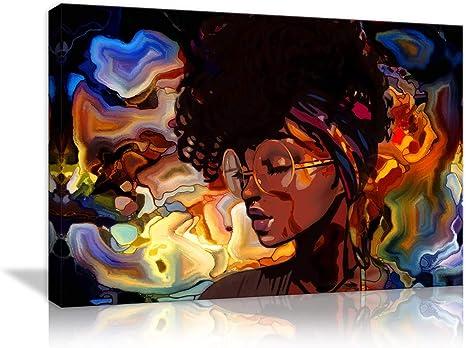With art afro girl black Sisterhood ,Afro