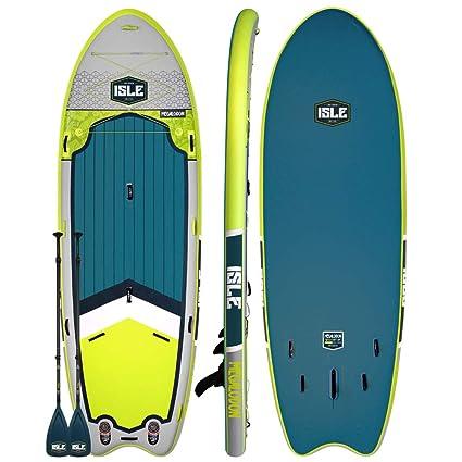 ISLE Surf & SUP Megalodon | Tabla inflable de remo de 12 ...