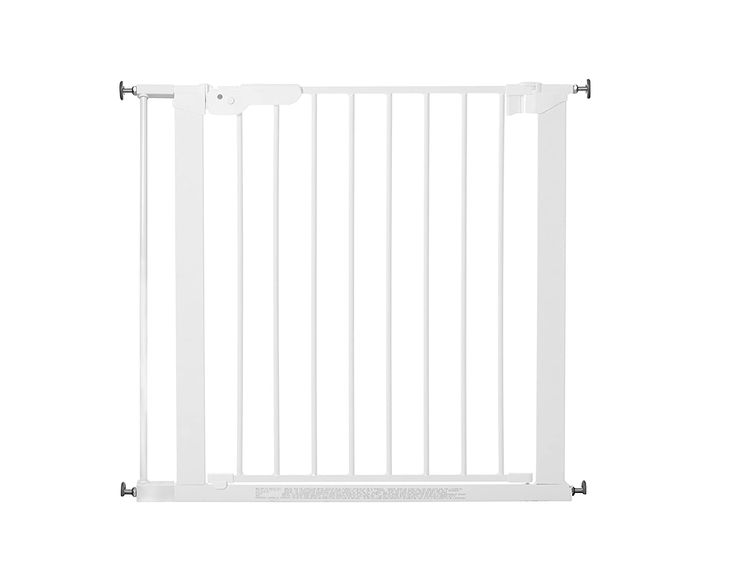 BabyDan Premier Indicator Stair Gate Pressure Fit 73 - 80 cm silver - Collection 2015 60117-2690-21