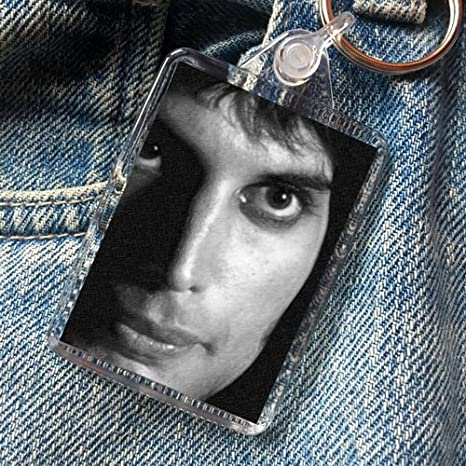Freddie Mercury Original Art Keyring Js002 Amazon Es Hogar
