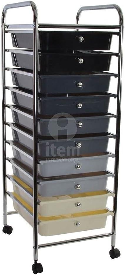Cassettiere Plastica Con Ruote.Cassettiera Plastica Cassettiera Ufficio Mobile Cassetti Carrello