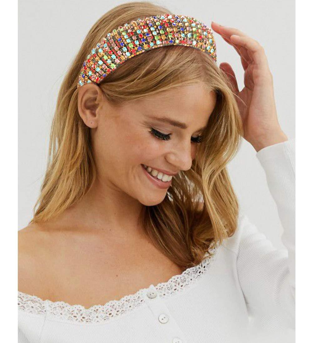 Details about  /Headband Fashion Hair Band Girl Bead Crystal Head Women Head Piece Chic