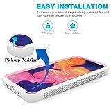 SUKCESO Galaxy A70 Phone Case Clear,Slim Anti