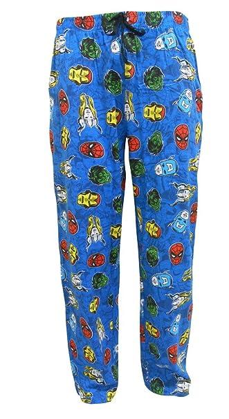 Marvel Comics Mens Lounge Pants Small
