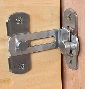 El cerrojo de la puerta del granero de la cerradura de la puerta ...