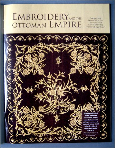 Piecework September/October 2000 Textiles from the Ottoman Empire, India's Painted Cloths, Orenburg Shawl Knitting