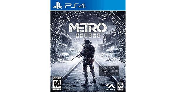 Amazon com: Metro Exodus: Day One Edition - PlayStation 4: Square