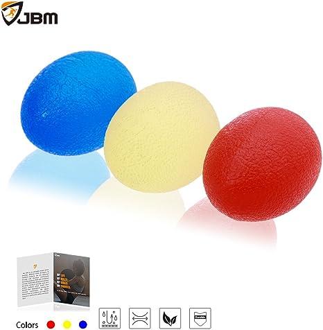 JBM Squeeze estrés bolas ejercitador de alivio de estrés pelota ...