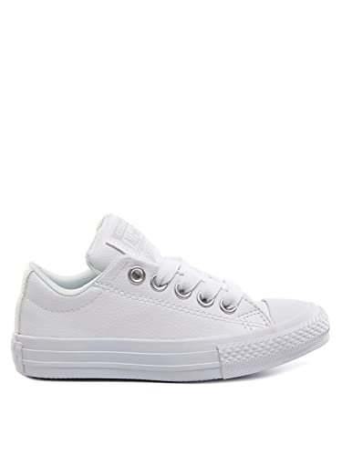 bc2e055e5ad8 Converse Unisex Kids  CTAS Street Slip White Trainers
