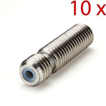 Gaoxing Tech. 10 unids Barrel M6 * 26 Boquilla de Garganta para ...