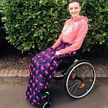BundleBean - Cosy - Saco impermeable para sillas de ruedas - Para adultos - Con forro polar - Universal Fácil de ...
