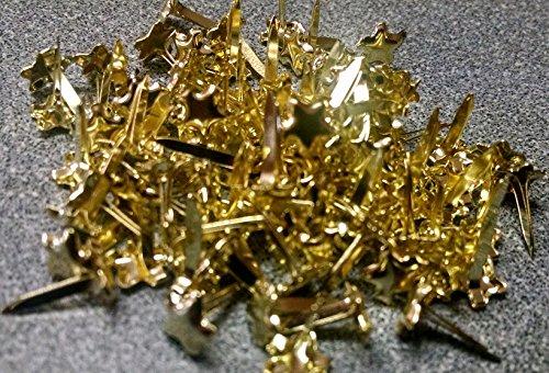 c Gold Stars - 100ct (Gold Star Brads)