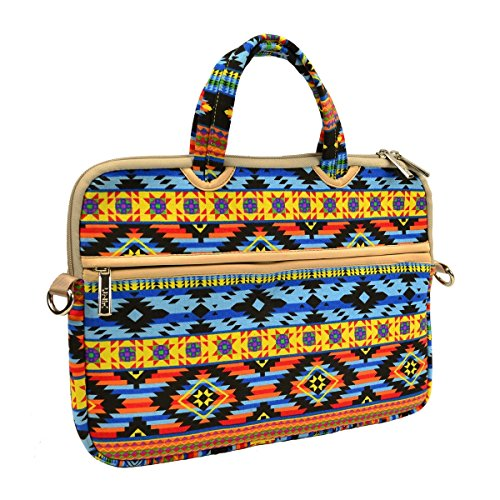 Unik Case Abstract Aztec Bohemian Zipper Laptop Sleeve Bag Case Cover for All 13