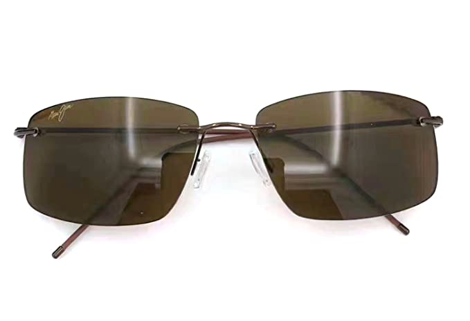 6321e9c6c8c2e Maui Jim Sandhill 715 Sunglasses Brown-Bronze Sunglasses  Amazon.ca ...
