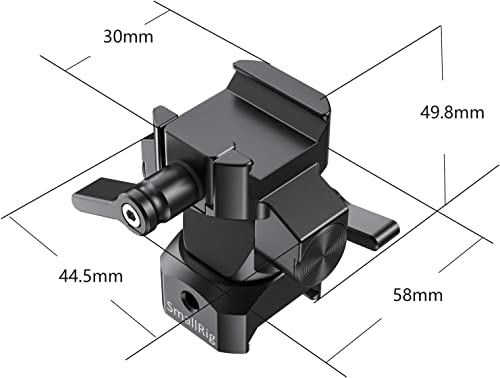 SMALLRIG Swivel and Tilt Monitor Mount with NATO Clamp Both Sides BSE2385