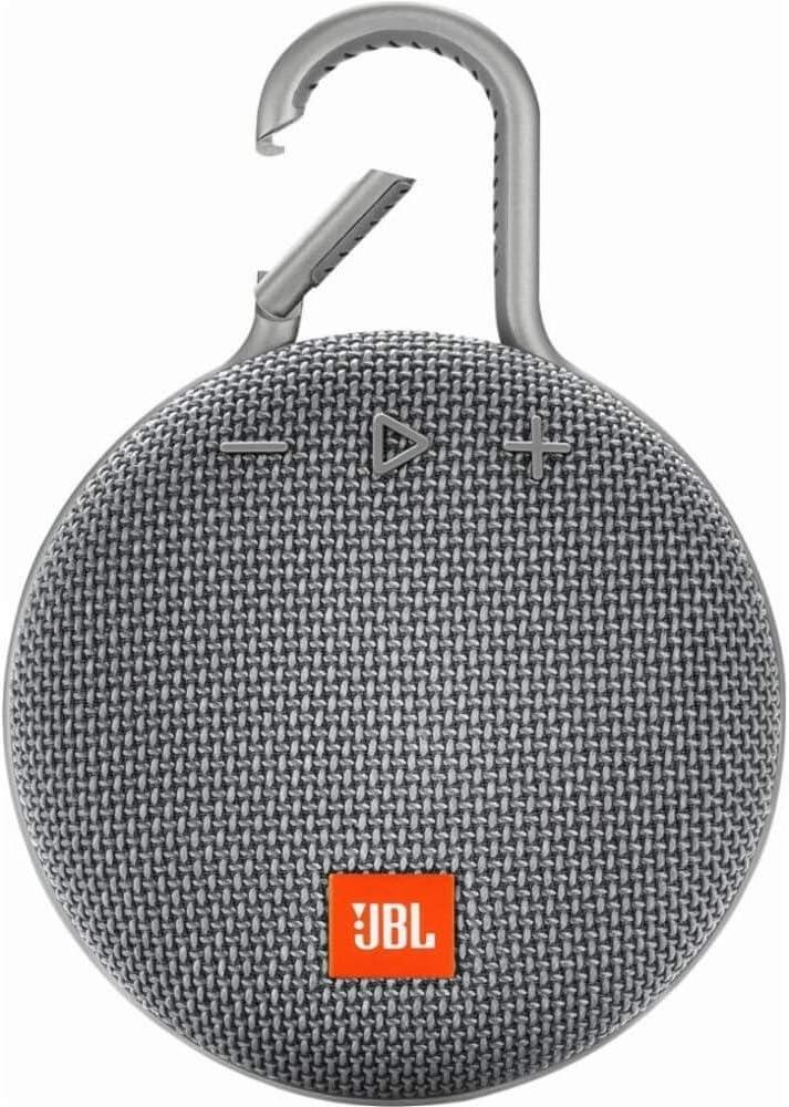 JBL CLIP 3 - Waterproof Portable Bluetooth Speaker - Gray