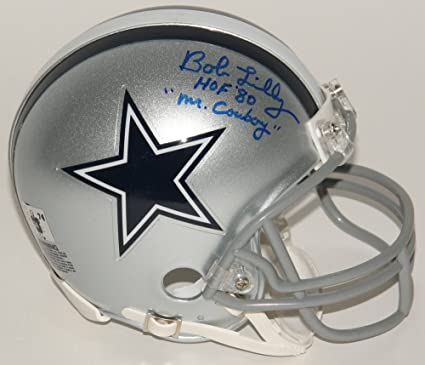 140e6160e30 Image Unavailable. Image not available for. Color: Bob Lilly #74 Signed &  Inscibed Dallas Cowboys ...