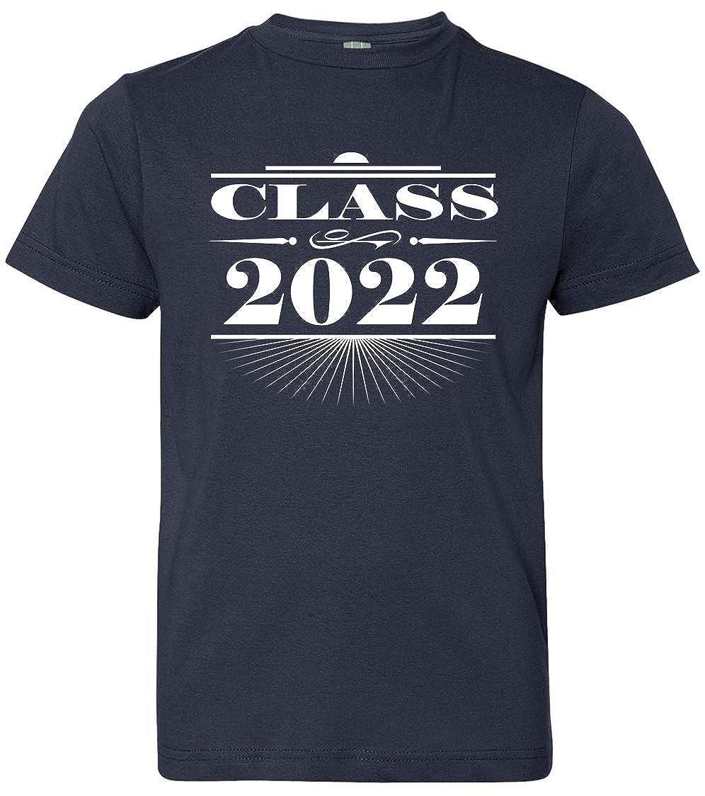 Tenacitee Boys Youth Art Deco Class of 2022 T-Shirt