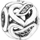 Pandora 潘多拉 丹麦品牌 爱之丝带串珠 792046CZ