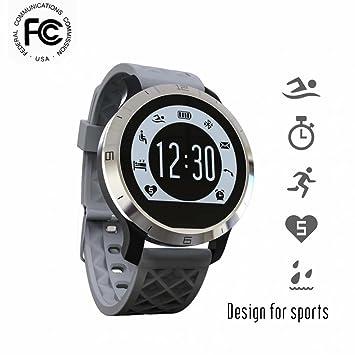 Reloj inteligente Bluetooth Digital pantalla de alta resolución,Seguimiento de calorías,alta sensibilidad Podómetro